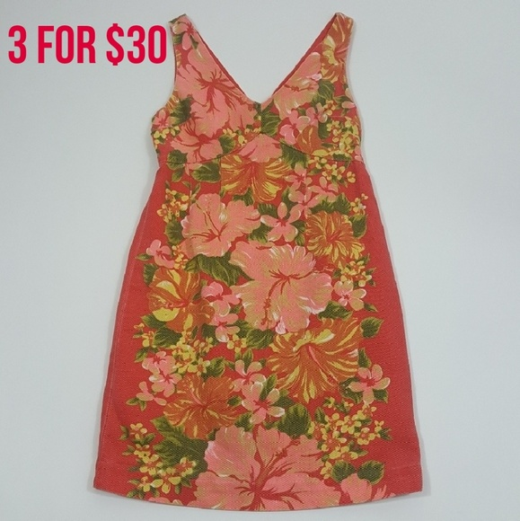 3044bd71ec981 Tracy Feith Dresses   For Target Coral Floral Tank Dress 3   Poshmark
